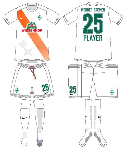 Werder Bremen Uniform Alternate Uniform (2015-2016) -  SportsLogos.Net