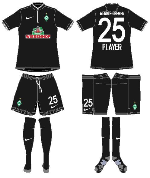 Werder Bremen Uniform Alternate Uniform (2013-2014) -  SportsLogos.Net