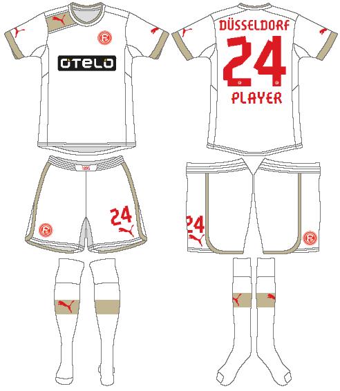 Fortuna Dusselsdorf Uniform Road Uniform (2012-2013) -  SportsLogos.Net