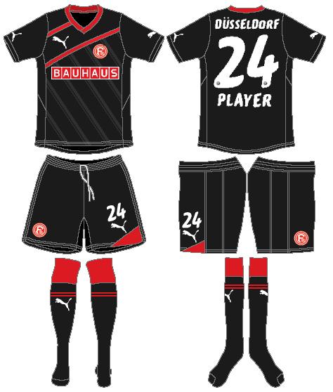 Fortuna Dusselsdorf Uniform Road Uniform (2011-2012) -  SportsLogos.Net