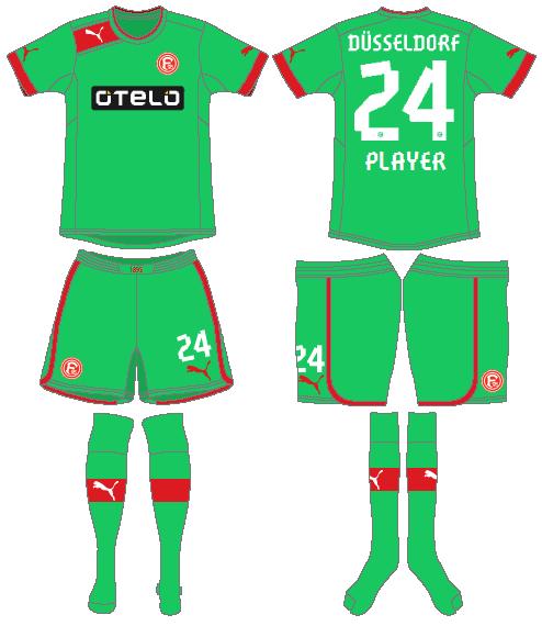Fortuna Dusselsdorf Uniform Alternate Uniform (2012-2013) -  SportsLogos.Net