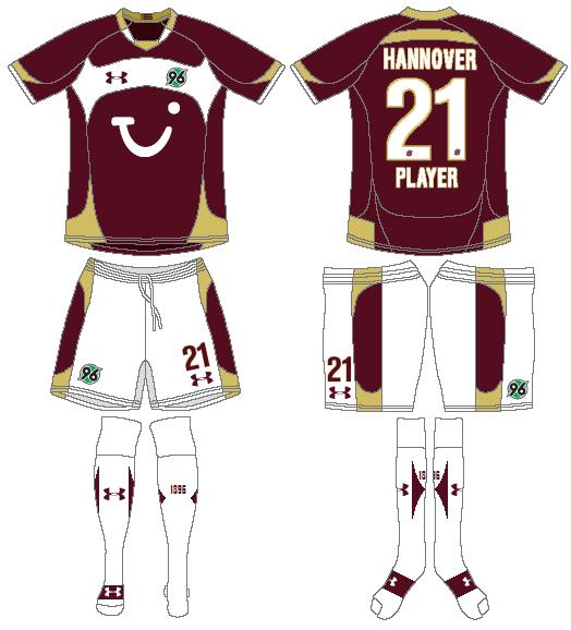 Hannover 96 Uniform Home Uniform (2010-2011) -  SportsLogos.Net