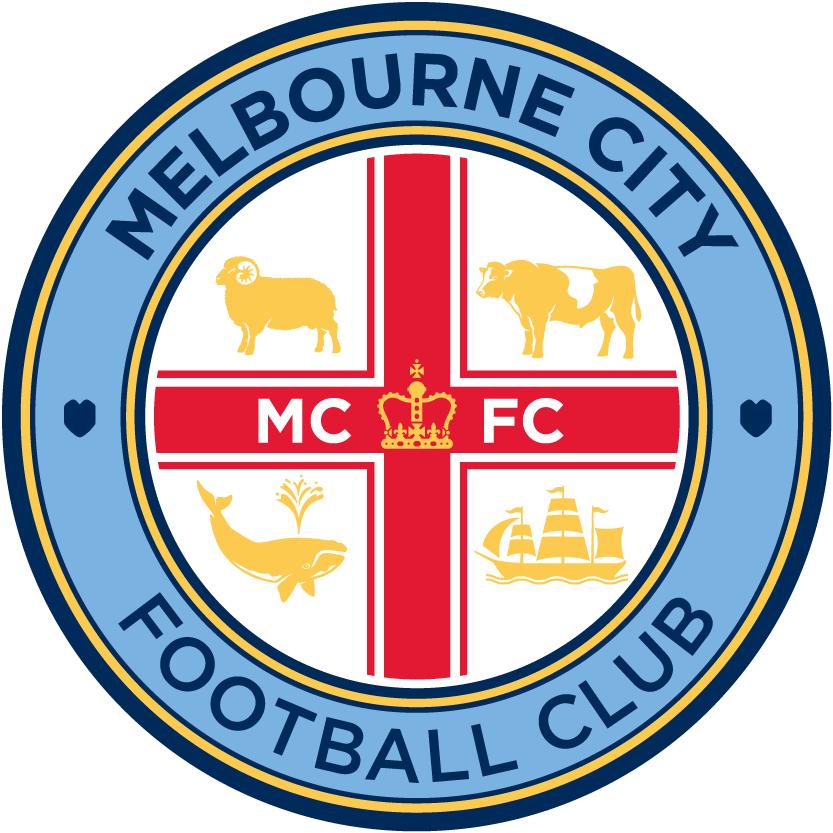 Melbourne City FC Logo Primary Logo (2015-Pres) -  SportsLogos.Net