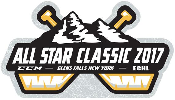 ECHL All-Star Game Logo Primary Logo (2016/17) - ECHL All-Star Classic 2017 - hosted by Adirondack Thunder SportsLogos.Net
