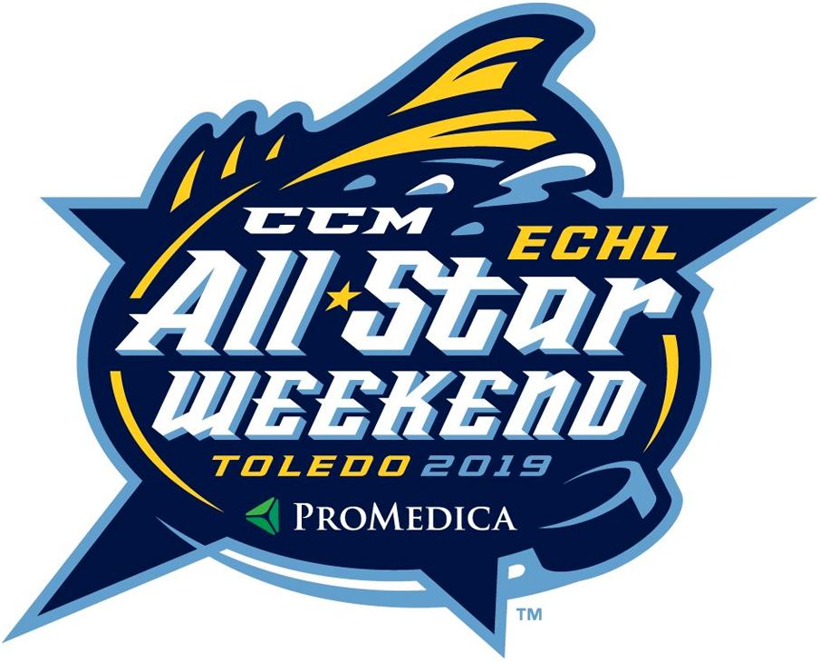 ECHL All-Star Game Logo Primary Logo (2018/19) - 2019 ECHL All-Star Classic logo - game played in Toledo, Ohio on January 21, 2019 SportsLogos.Net