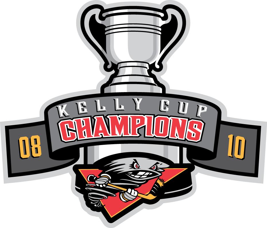 Cincinnati Cyclones Logo Champion Logo (2010/11-2013/14) - Two time Kelly Cup Champions (2008+2010) logo SportsLogos.Net