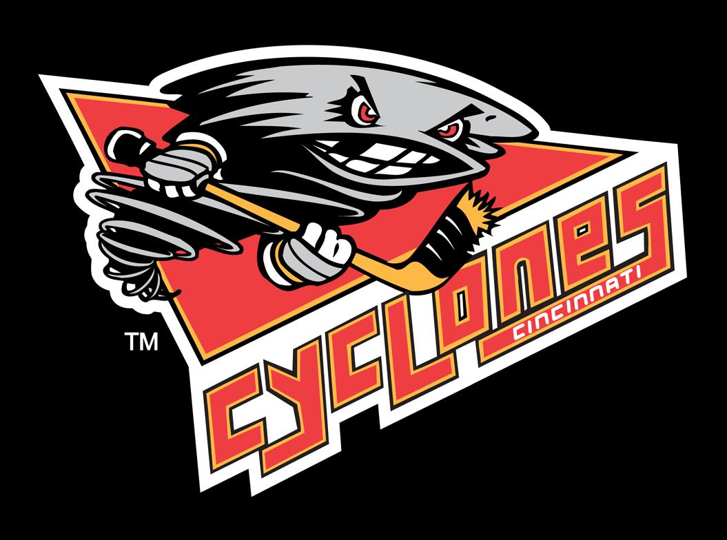Cincinnati Cyclones Logo Alternate Logo (2001/02-2013/14) -  SportsLogos.Net