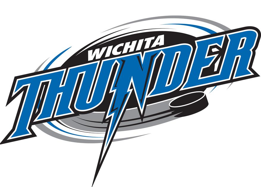 Wichita Thunder Logo Primary Logo (2014/15-2015/16) -  SportsLogos.Net