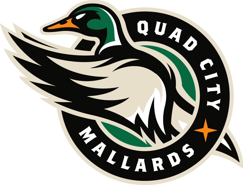 Quad City Mallards Logo Primary Logo (2014/15-Pres) -  SportsLogos.Net