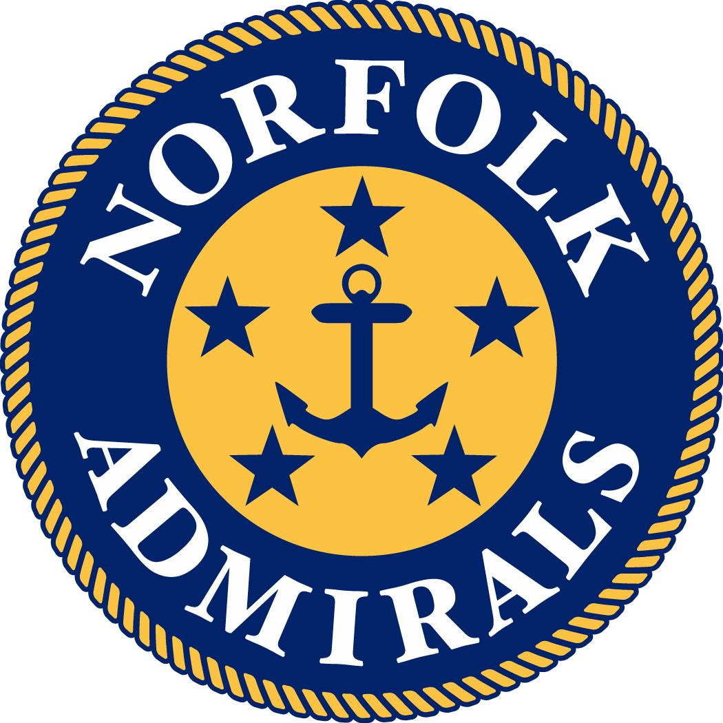 Norfolk Admirals Logo Primary Logo (2017/18-Pres) -  SportsLogos.Net