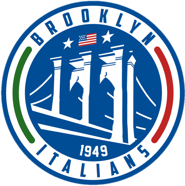 Brooklyn Italians Logo Primary Logo (2014-Pres) -  SportsLogos.Net