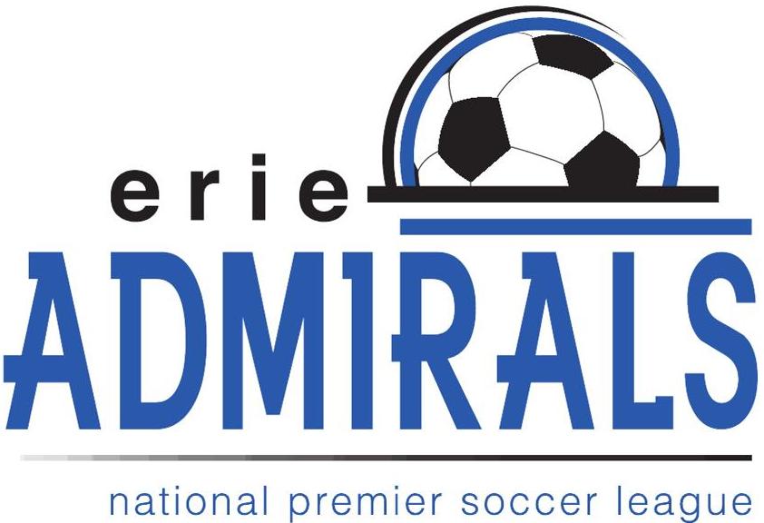 Erie Admirals FC Logo Primary Logo (2012) -  SportsLogos.Net