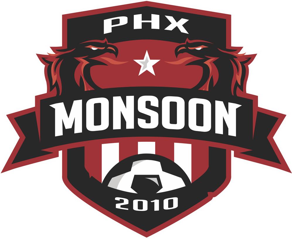 Phoenix Monsoon Logo Primary Logo (2013-Pres) -  SportsLogos.Net