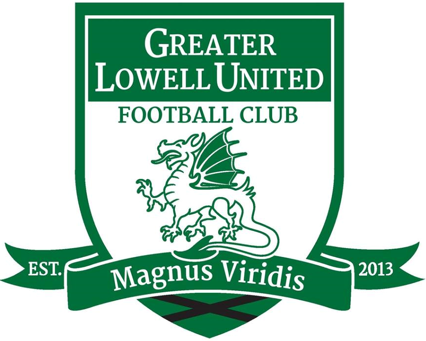 Greater Lowell United FC Logo Primary Logo (2013-2015) -  SportsLogos.Net
