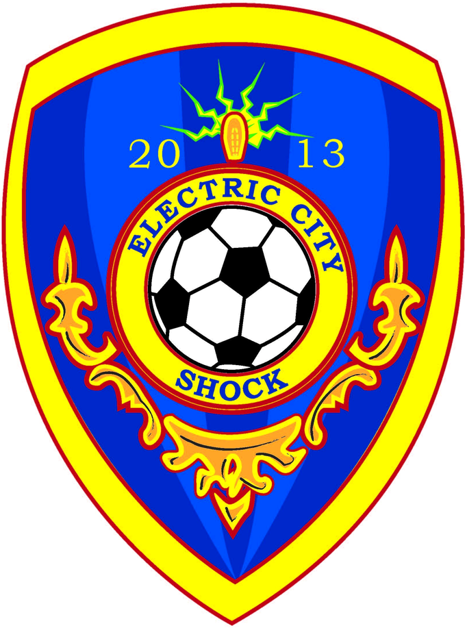 Electric City Shock SC Logo Primary Logo (2014-Pres) -  SportsLogos.Net