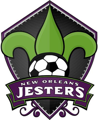 New Orleans Jesters Logo Primary Logo (2013-Pres) -  SportsLogos.Net