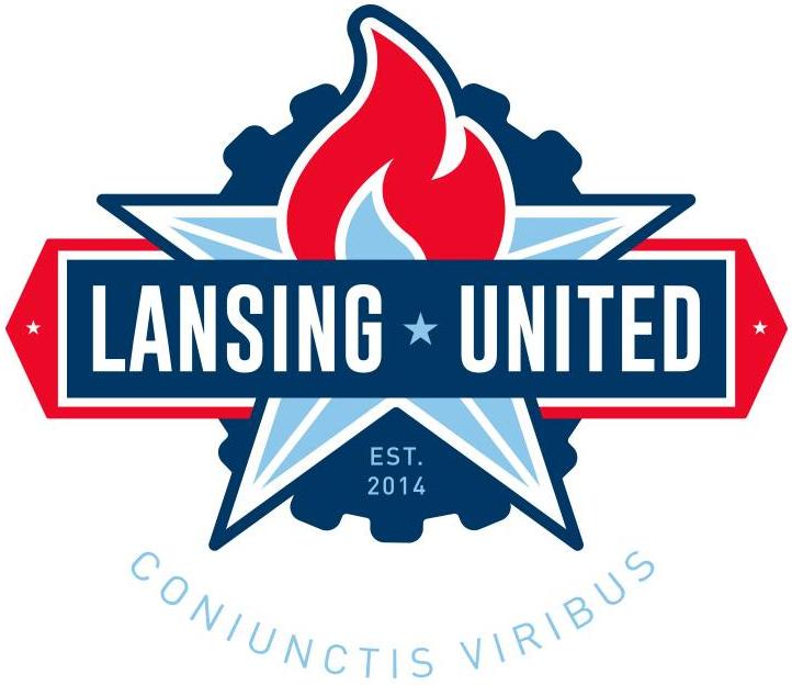 Lansing United Logo Primary Logo (2014-Pres) -  SportsLogos.Net
