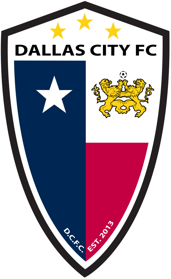 Dallas City FC Logo Primary Logo (2014-Pres) -  SportsLogos.Net