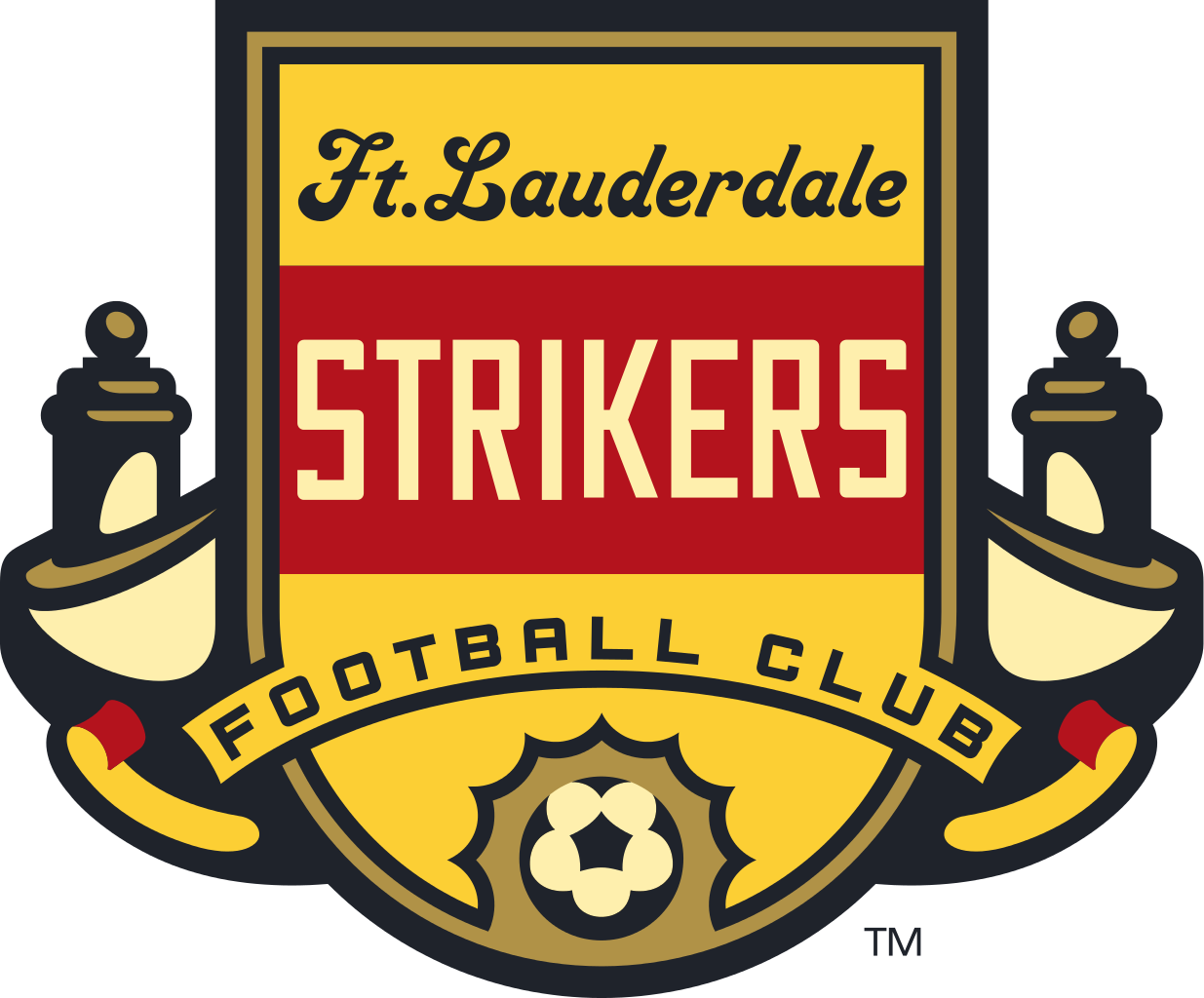Fort Lauderdale Strikers U-23 Logo Primary Logo (2016) -  SportsLogos.Net