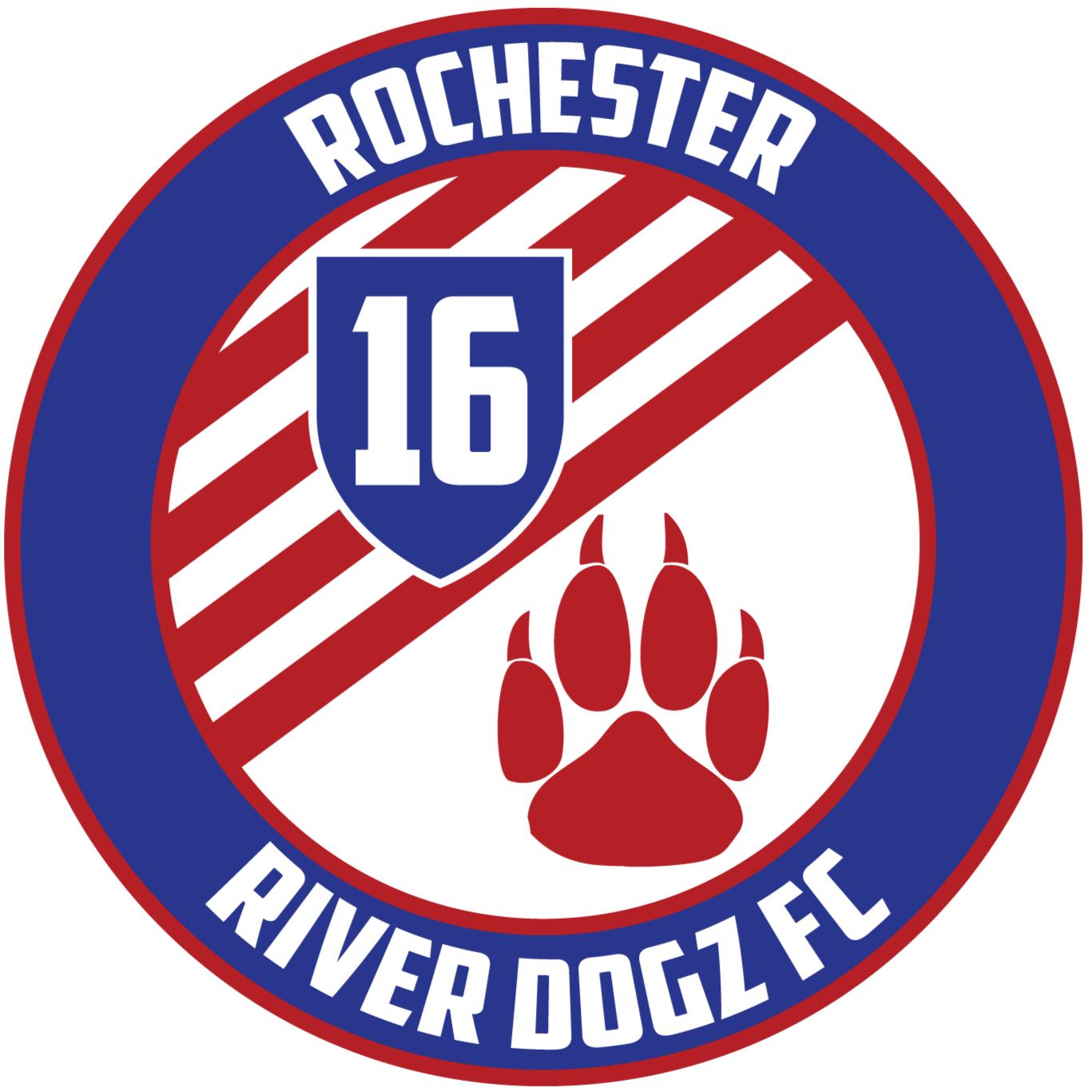 Rochester River DogZ FC Logo Primary Logo (2016-Pres) -  SportsLogos.Net