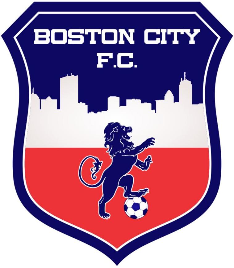Boston City FC Logo Primary Logo (2016-Pres) -  SportsLogos.Net