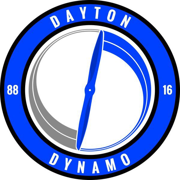 Dayton Dynamo Logo Primary Logo (2016-Pres) -  SportsLogos.Net