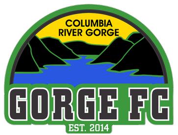 Gorge FC Logo Primary Logo (2014) -  SportsLogos.Net