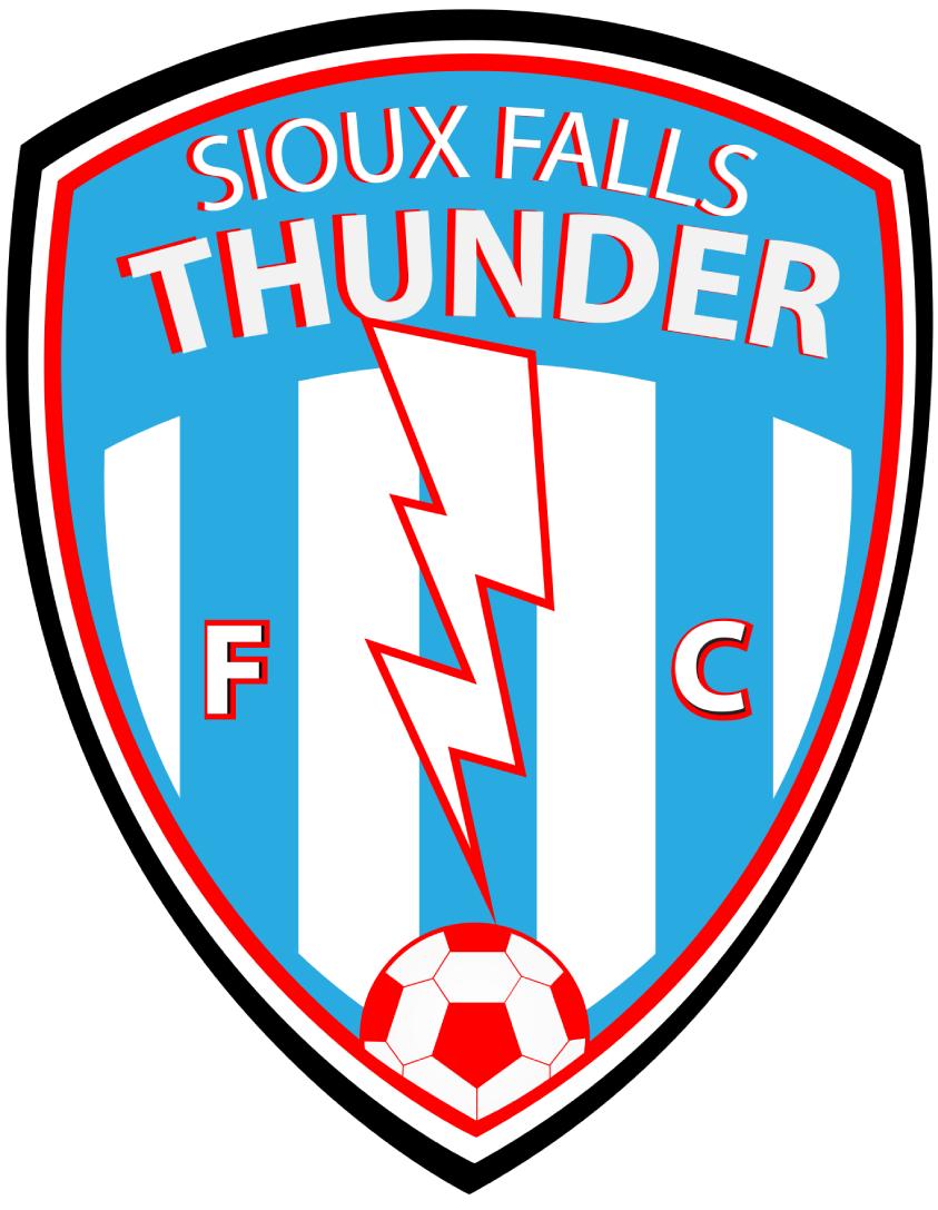Sioux Falls  Thunder FC Logo Primary Logo (2017-Pres) -  SportsLogos.Net