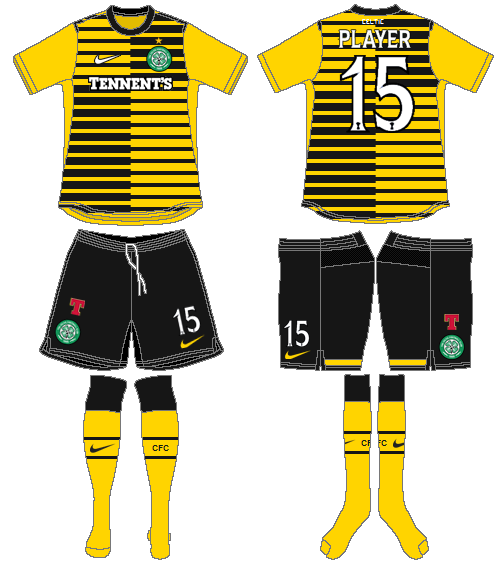 Celtic FC Uniform Alternate Uniform (2011/12) -  SportsLogos.Net