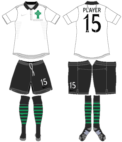 Celtic FC Uniform Special Event Uniform (2012/13) - 125 Anniversary Kit SportsLogos.Net