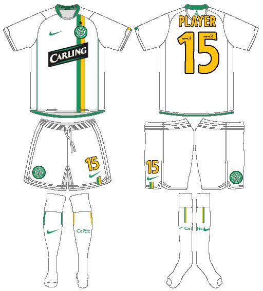 Celtic FC Uniform Alternate Uniform (2006/07) -  SportsLogos.Net