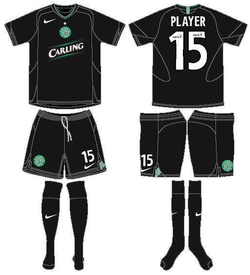 Celtic FC Uniform Alternate Uniform (2005/06) -  SportsLogos.Net