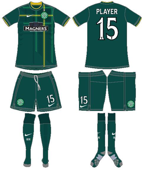 Celtic FC Uniform Road Uniform (2014/15) -  SportsLogos.Net