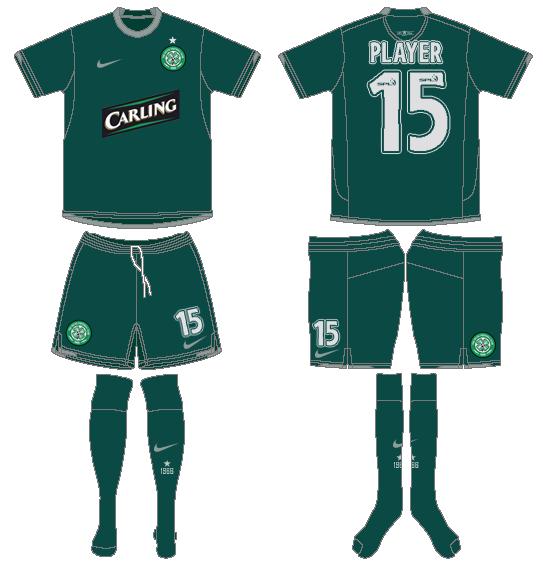 Celtic FC Uniform Alternate Uniform (2008/09) -  SportsLogos.Net