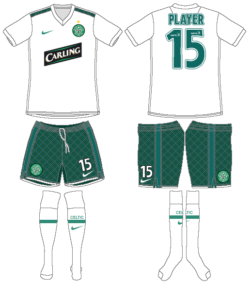 Celtic FC Uniform Alternate Uniform (2009/10) -  SportsLogos.Net
