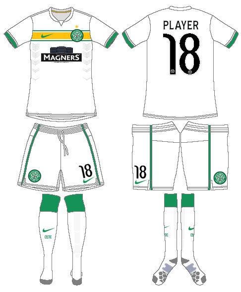 Celtic FC Uniform Alternate Uniform (2014/15) - UEFA Third Kit SportsLogos.Net