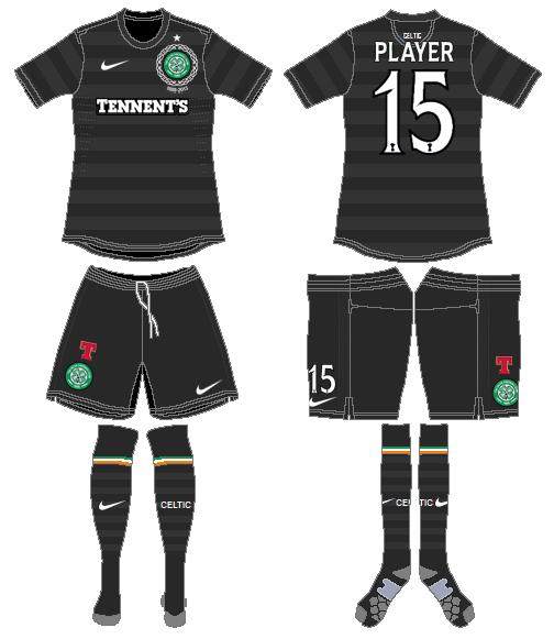 Celtic FC Uniform Road Uniform (2012/13) -  SportsLogos.Net