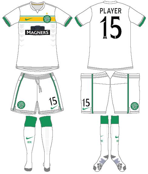 Celtic FC Uniform Alternate Uniform (2014/15) -  SportsLogos.Net