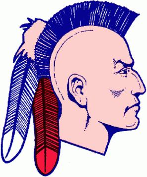 Muskegon  Mohawks Logo Primary Logo (1977/78-1983/84) -  SportsLogos.Net