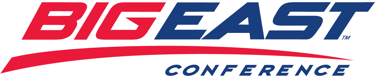 Big East Conference Logo Primary Logo (2005-Pres) - BIGEAST in red and blue with a red underscore SportsLogos.Net