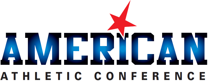 American Athletic  Conference Logo Wordmark Logo (2013-2016) -  SportsLogos.Net