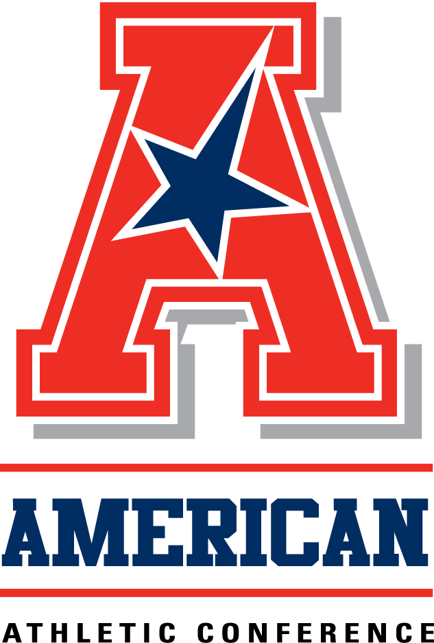 American Athletic  Conference Logo Alternate Logo (2013-2016) - A gradient-less version of the secondary logo SportsLogos.Net