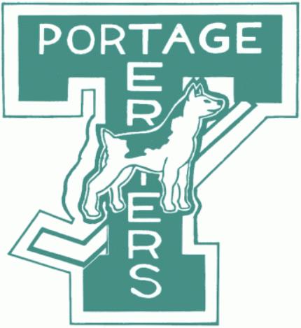 Portage Terriers Logo Primary Logo (1962/63-1996/97) -  SportsLogos.Net