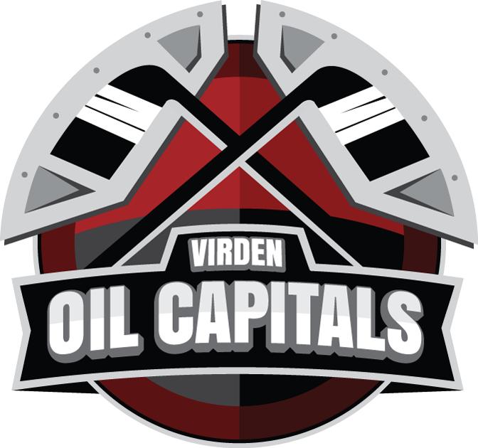 Virden Oil Capitals Logo Primary Logo (2012/13-Pres) -  SportsLogos.Net