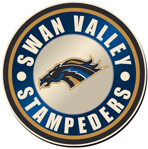 Swan Valley Stampeders Logo Primary Logo (2015/16-Pres) -  SportsLogos.Net