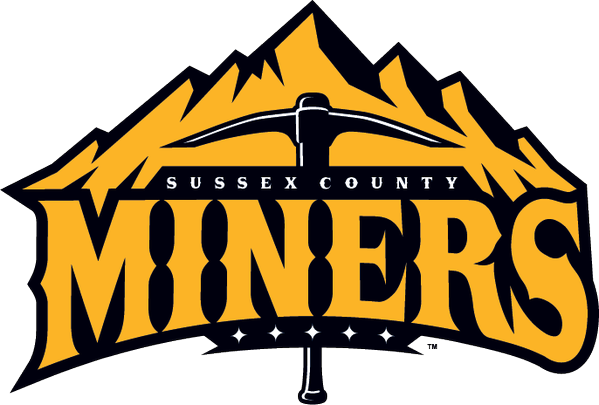 Sussex County Miners Logo Primary Logo (2015-Pres) -  SportsLogos.Net
