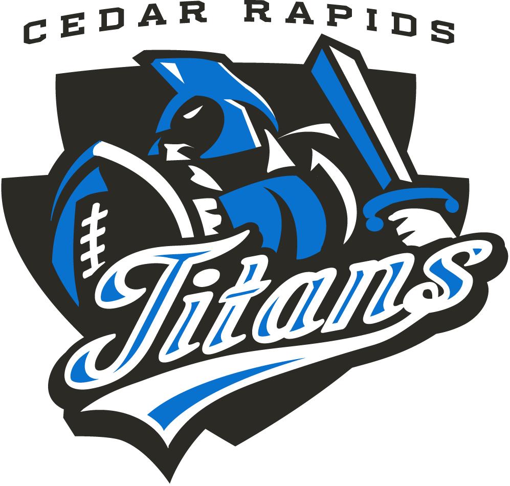 Cedar Rapids Titans Logo Primary Logo (2012-Pres) -  SportsLogos.Net