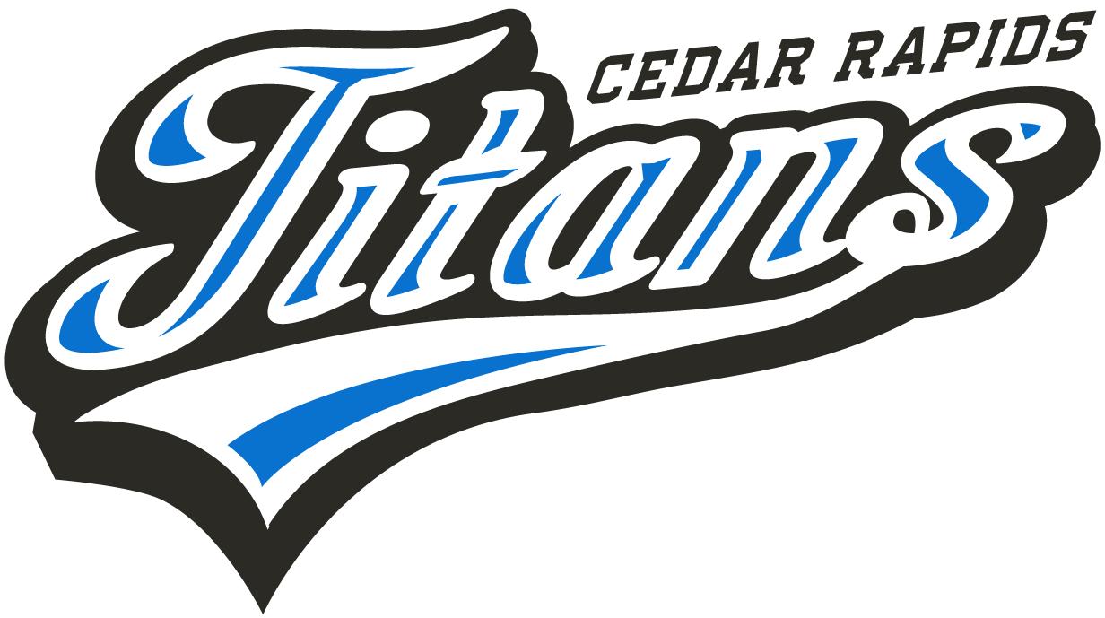 Cedar Rapids Titans Logo Wordmark Logo (2012-Pres) -  SportsLogos.Net