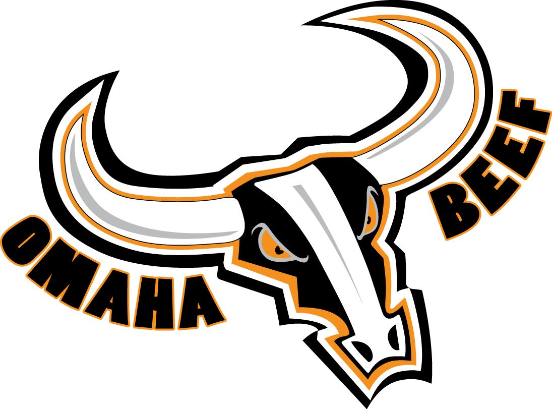 Omaha Beef Logo Primary Logo (2009-2012) -  SportsLogos.Net