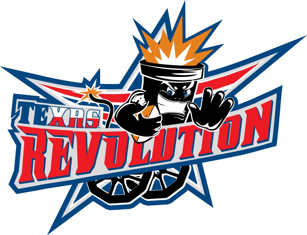 Texas Revolution Logo Primary Logo (2013-2014) -  SportsLogos.Net